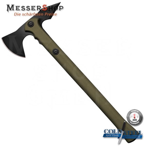 Cold Steel Trench Hawk with Sheat - OD Green